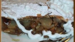 Apple strudel rinforzato