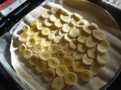 Strudel di banane