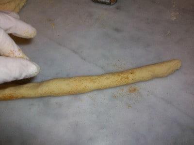 Gnocchetti di bottarga con sugo di  riccio di mare