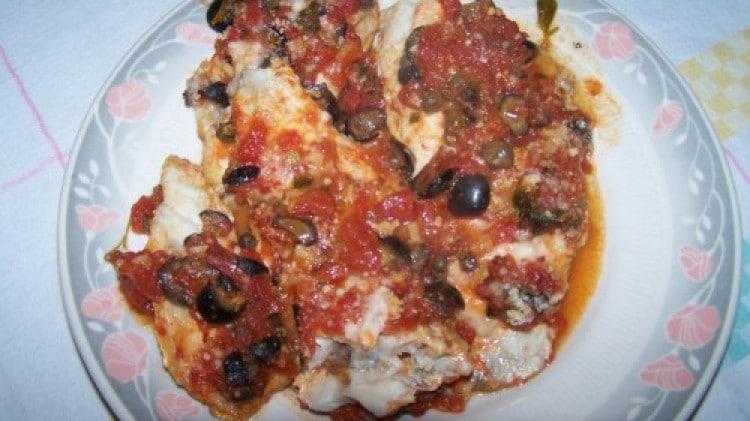 Filetti di pesce al forno