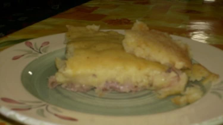 La pitta di patate bianca