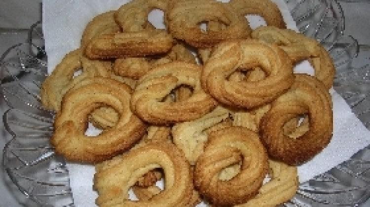 Biscotti danesi alle mandorle