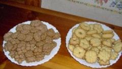 Biscotti cacao, mandorle e burro