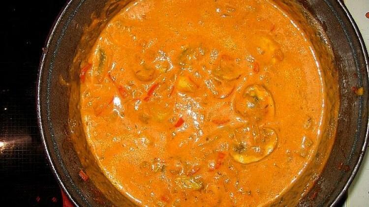 Curry di funghi