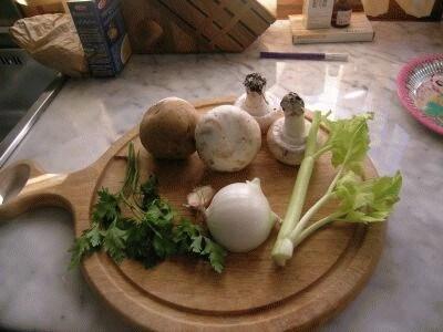 Crema di patate ai funghi