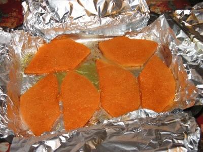 Zucca al forno con fontina