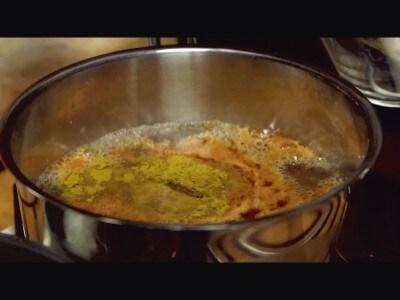Filetto piccante al curry