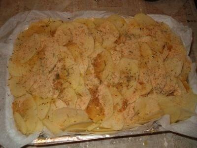 Lasagna di patate al forno