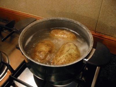 Nido saporito di patate