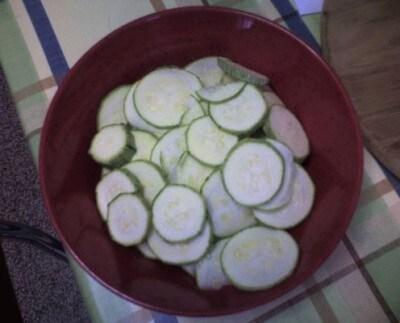 Terrina di zucchine al curry