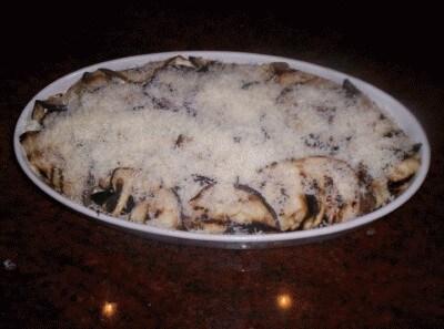 Melanzane parmigiano versione light