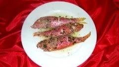 Triglie marinate al cartoccio