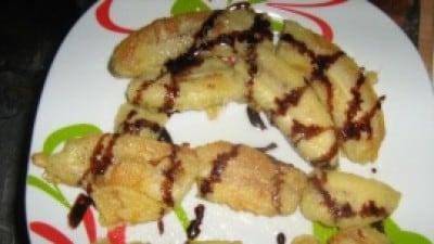 Banane fritte alla cinese