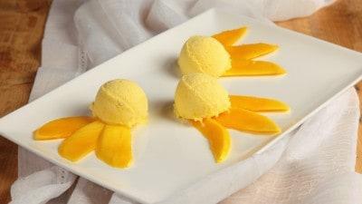 Gelato al mango