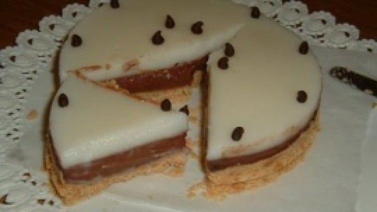 Torta fredda al budino