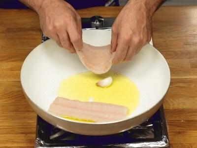 Pesce sciabola impanato al forno