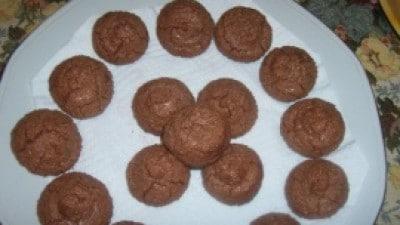 Biscotti al cioccolato e cocco