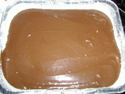 Torta molleux al cioccolato