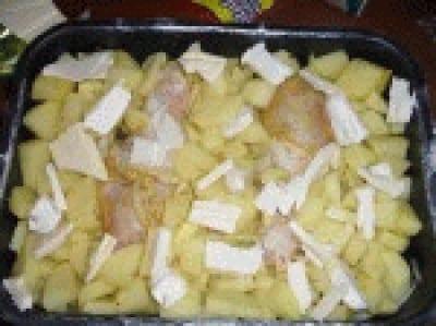 Coscette di pollo e patate speziate