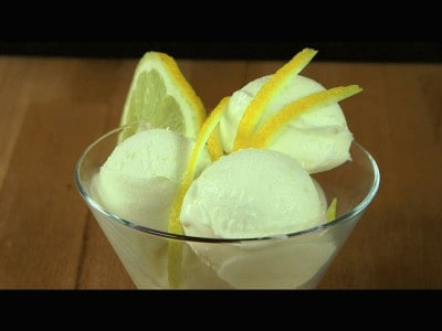 Gelato al limone