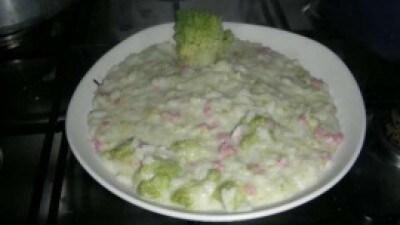 Risotto broccoli e salsiccia