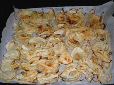 Chips di finocchi