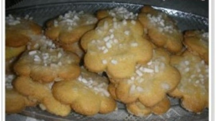 Biscotti di mais e limone