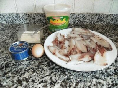 Calamari ripieni al tonno