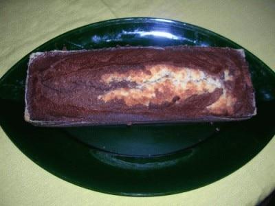 Plum-cake al cappuccino