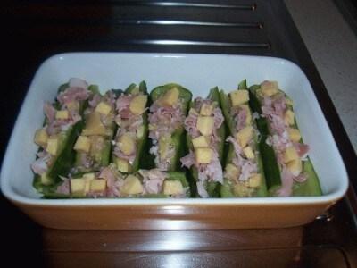 Barchette di zucchine di Djamira