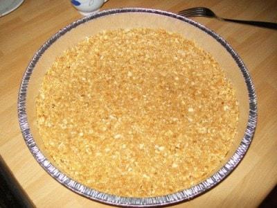 Cheese cake con nocciole e caffè