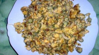 Zucchine cacio e uova