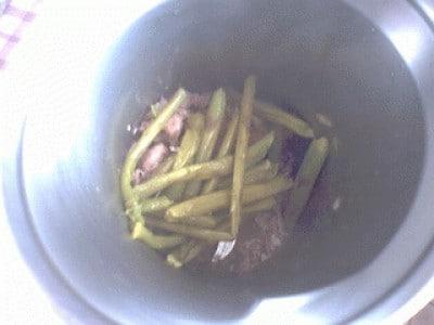 Tagliatelle salsiccia e asparagi