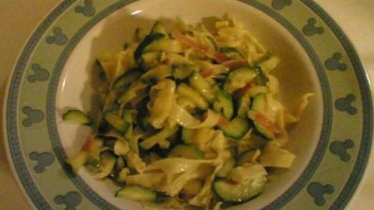 Lasagne zucchine e speck