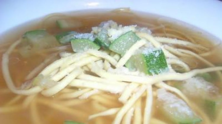Minestra alle zucchine