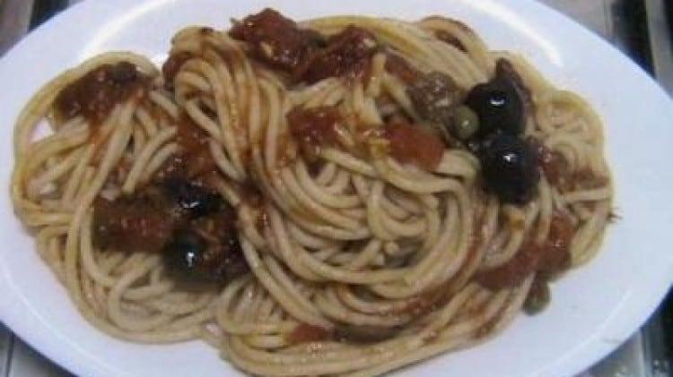 Spaghetti bella napoli