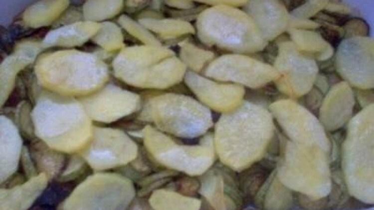 Zucchine in terracotta