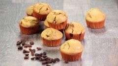 Muffins caraibici al rhum e uvetta