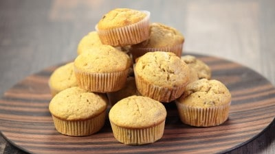 Muffin integrali alla banana