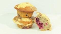 Muffins alle more con streusel