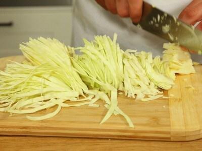 Stufato di verza e salsicce
