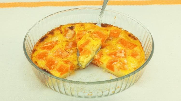Clafoutis al melone