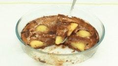Clafoutis alle pere e cioccolato