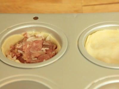 Torta di tacchino e pancetta