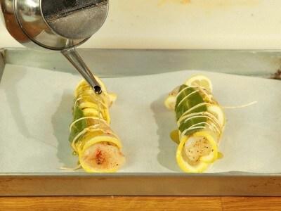 Coda di rospo al limone