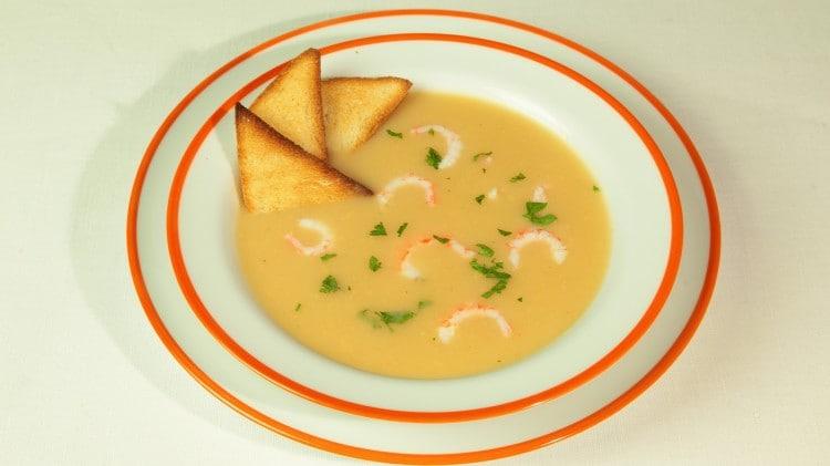 Zuppa di gamberetti
