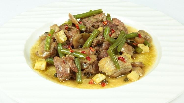 Anatra al curry
