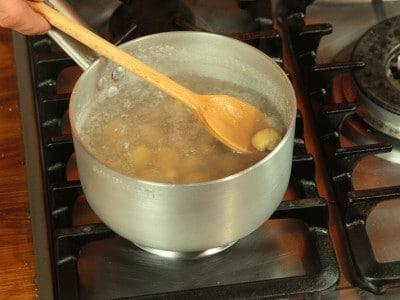 Zuppa di verza e castagne
