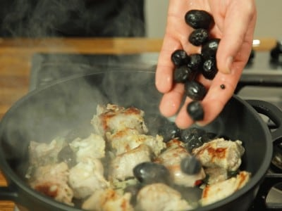Agnello olive e finocchietti