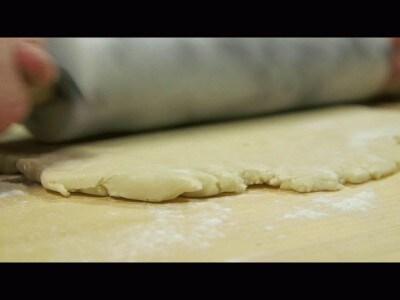 Quiche rustica patate e pancetta